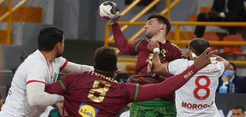هزيمة ثانية للمنتخب المغربي أمام البرتغال في كأس العالم لكرة اليد