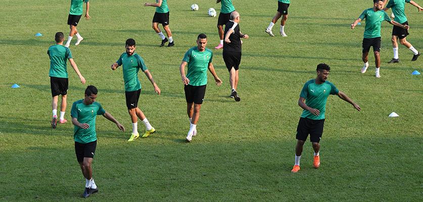 المنتخب المغربي المحلي مواجهة حاسمة أمام زامبيا للمرور لدور النصف