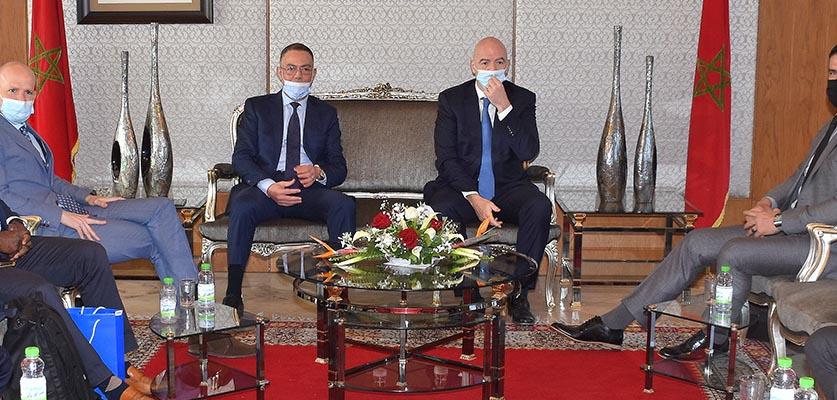 إنفانتينو يكشف أسباب حضوره للمغرب