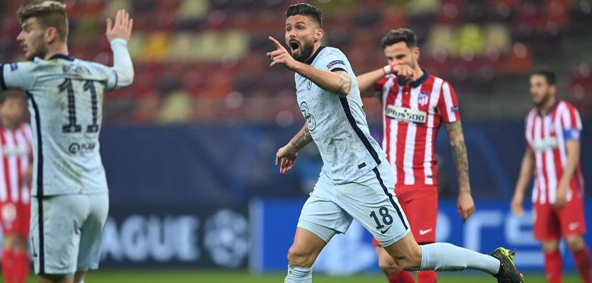 فوز ثمين لتشلسي على اتلتيكو مدريد في دوري أبطال أوروبا