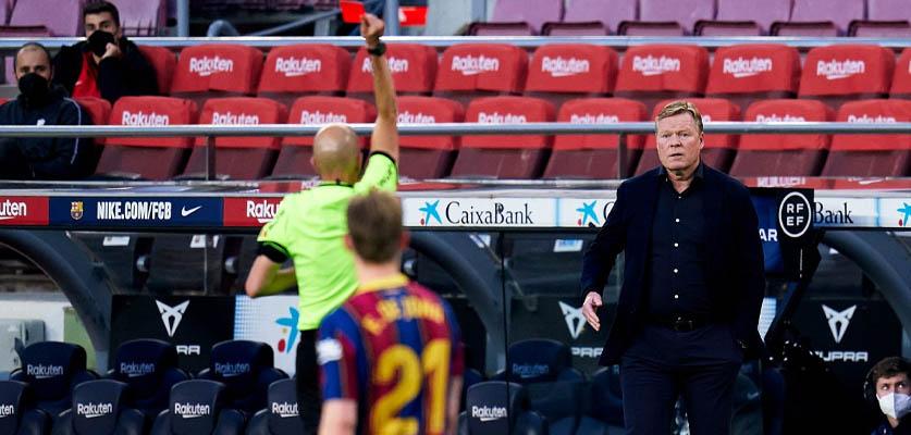 رابطة الدوري الإسباني لكرة القدم تصدر عقوبتها في حق مدرب برشلونة
