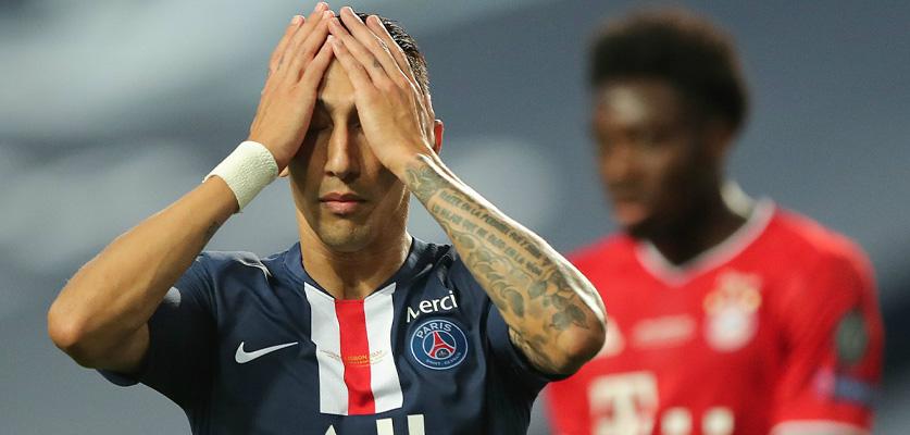 باريس سان جيرمان في مباراة الحسم أمام بايرن ميونخ