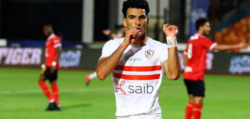 الزمالك يحي أماله في التأهل لربع نهائي العصبة بعد الفوز على مولودية الجزائر