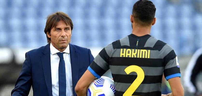 حكيمي يتوج بطلا للدوري الإيطالي مع إنتر ميلان