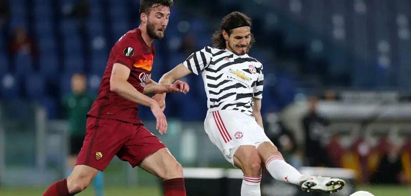 مانشستر يونايتد يحسم بطاقة التأهل لنهائي الدوري الأوروبي على حساب روما