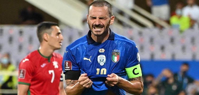 بلغاريا يفرض التعادل على إيطاليا في تصفيات كأس العالم 2022