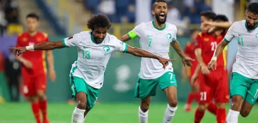 منتخب السعودية يتيحقق فوزا مهما على فيتنام بثلاثية في تصفيات كأس العالم
