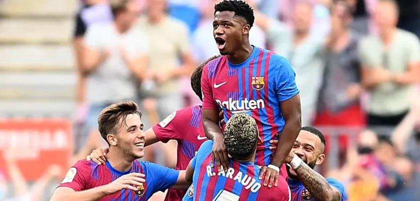 برشلونة يعود لسكة الإنتصارات بعد فوز معنوي على ليفانتي