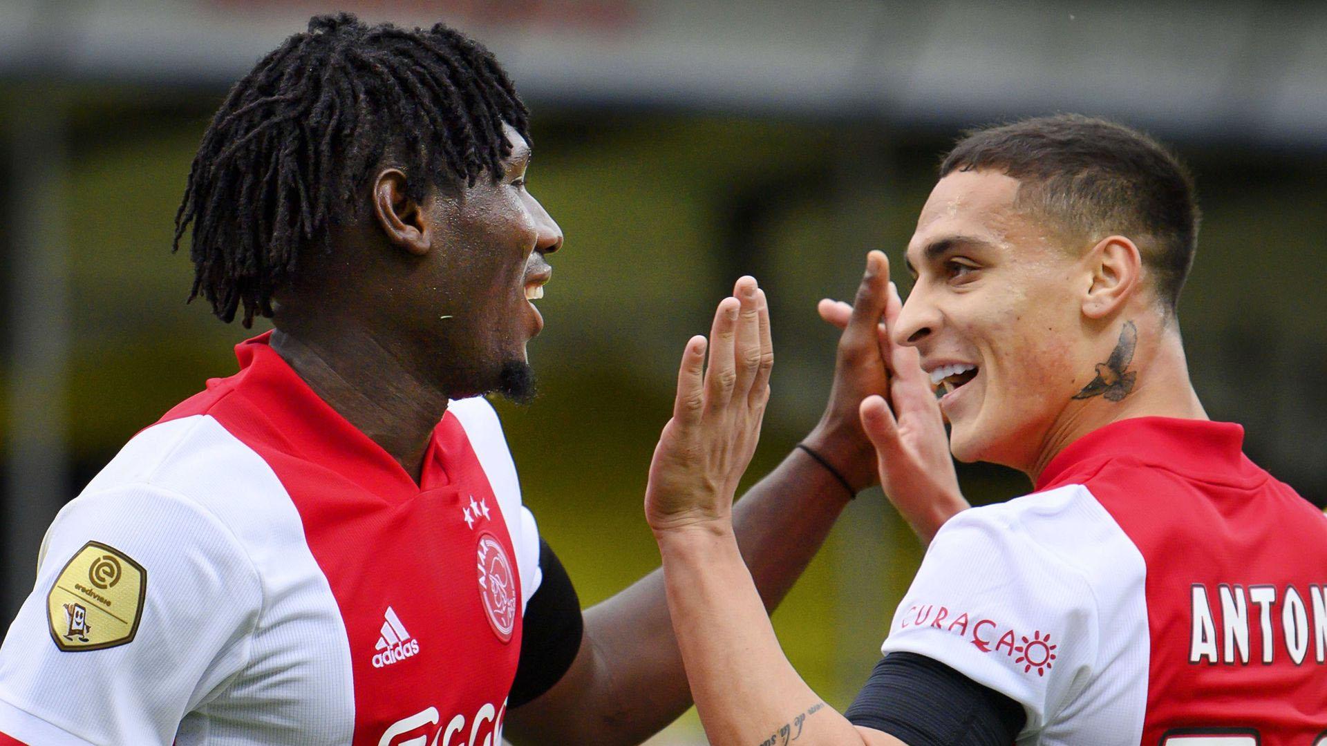 """أجاكس يحقق أكبر فوز في تاريخ الدوري الهولندي على فريق """"في في في فينلو"""""""