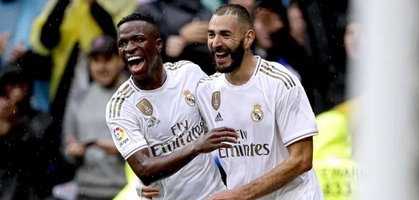 بنزيما يؤكد أن ريال مدريد بحاجة لفينيسيوس جونيور