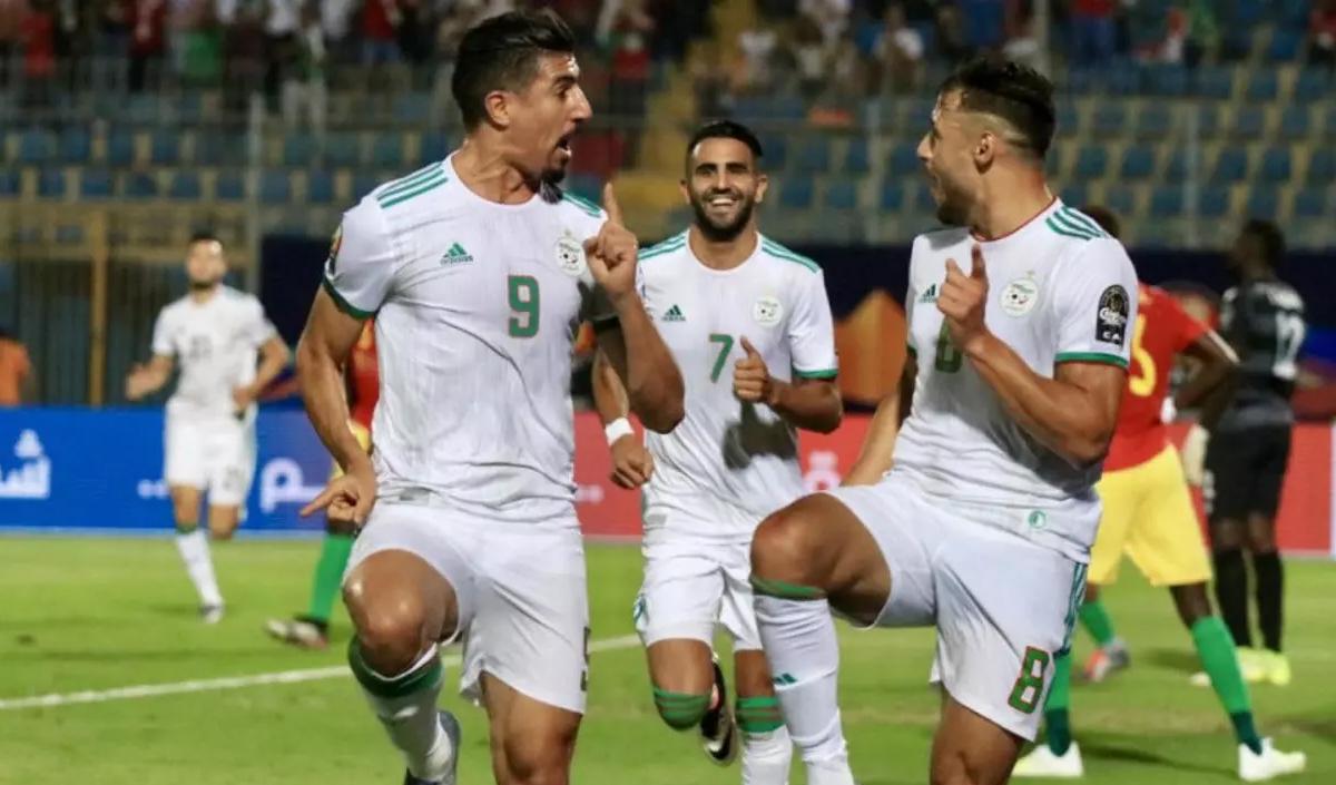 الجزائر ثاني المتأهلين بعد السنغال لأمم إفريقيا بالكاميرون 2022