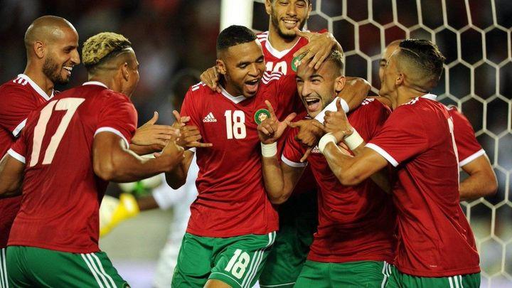 المنتخب المغربي على بعد خطوة واحد من بلوغ نهائيات كأس إفريقيا للأمم بالكاميرون