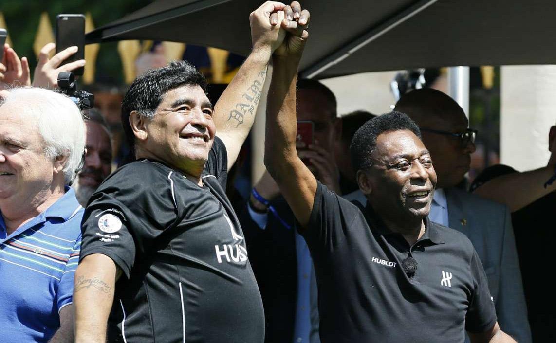 بيلي أم مارادونا لمن ذهب مجد كرة القدم ؟